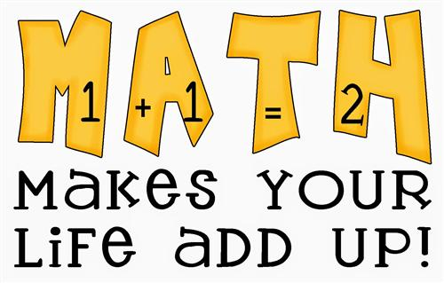 Math makes your life add up!